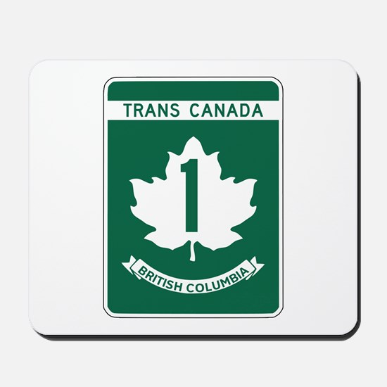 Trans-Canada Highway, British Columbia Mousepad