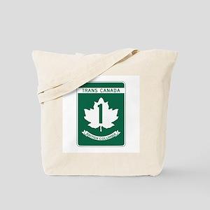 Trans-Canada Highway, British Columbia Tote Bag