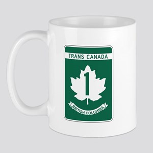 Trans-Canada Highway, British Columbia Mug