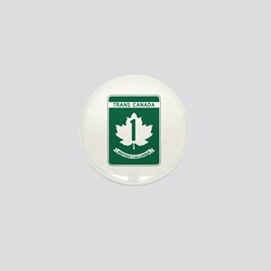 Trans-Canada Highway, British Columbia Mini Button