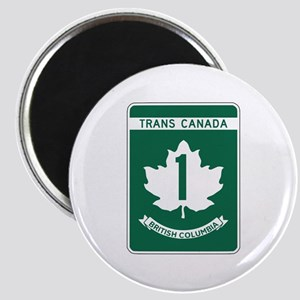 Trans-Canada Highway, British Columbia Magnet