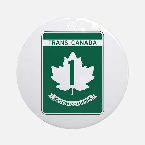 Trans-Canada Highway, British Columbia Ornament (R