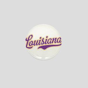 Louisiana Royal Purple and Gold-01 Mini Button