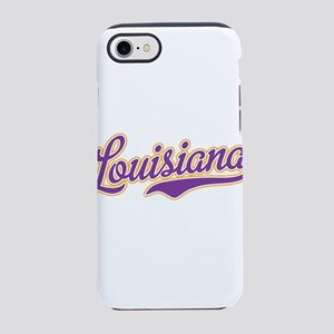 Louisiana Royal Purple and Gold-01 iPhone 8/7 Toug