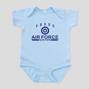 Proud Air Force Sister Infant Bodysuit