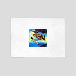 Maxfield Parrish Dinky Bird 5'x7'Area Rug