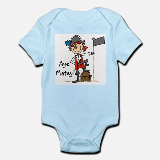 Aye Matey Pirate Infant Bodysuit