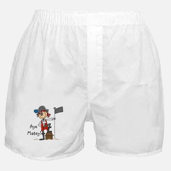 Aye Matey Pirate Boxer Shorts