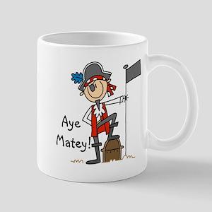 Aye Matey Pirate Mug
