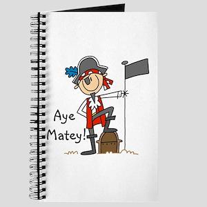 Aye Matey Pirate Journal