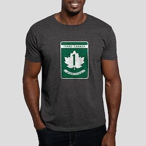 Trans-Canada Highway, Manitoba Dark T-Shirt