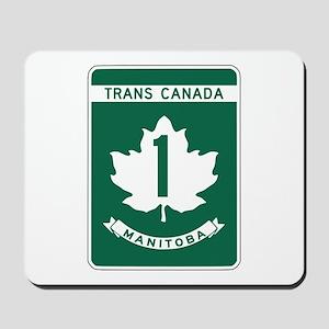Trans-Canada Highway, Manitoba Mousepad