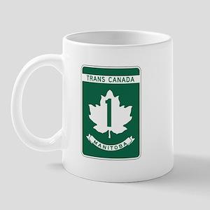Trans-Canada Highway, Manitoba Mug