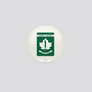 Trans-Canada Highway, Manitoba Mini Button