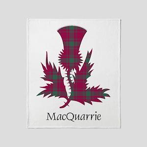 Thistle-MacQuarrie Throw Blanket