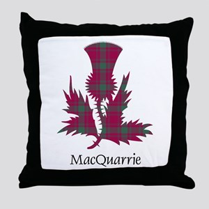 Thistle-MacQuarrie Throw Pillow
