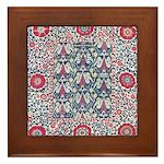 Suzani Framed Tile