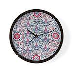 Suzani Wall Clock