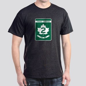 Trans-Canada Highway, New Brunswick Dark T-Shirt
