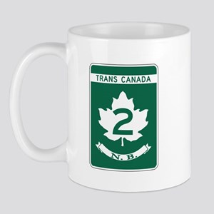 Trans-Canada Highway, New Brunswick Mug