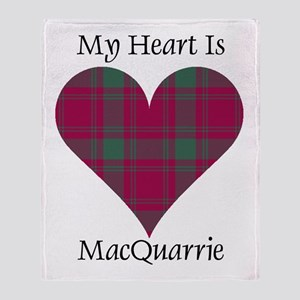 Heart-MacQuarrie Throw Blanket
