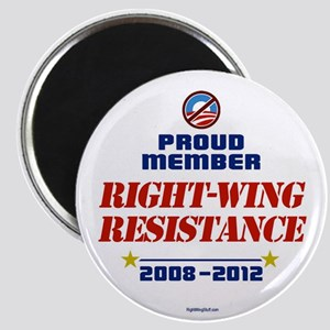 "Right-Wing Resistance 2.25"" Magnet (10 pack)"