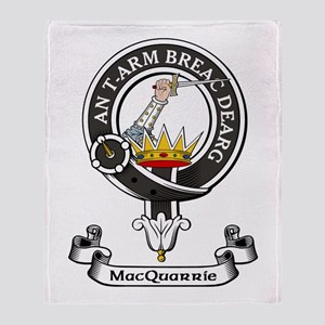 Badge-MacQuarrie Throw Blanket