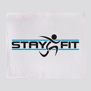 Stay Fit Throw Blanket