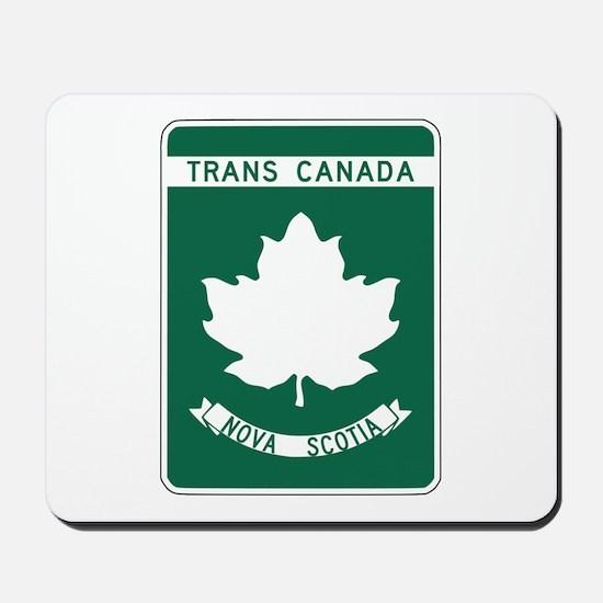 Trans-Canada Highway, Nova Scotia Mousepad