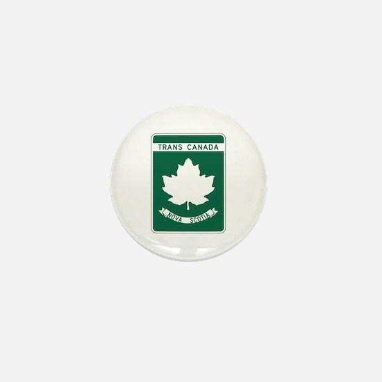 Trans-Canada Highway, Nova Scotia Mini Button