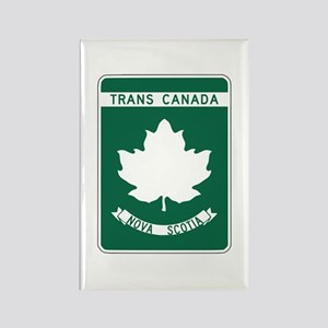 Trans-Canada Highway, Nova Scotia Rectangle Magnet