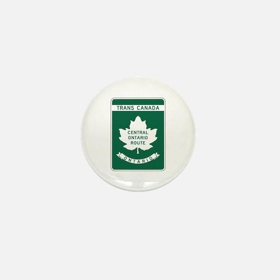 Trans-Canada Highway, Ontario Mini Button