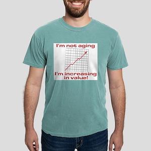 I'm increasing in value Ash Grey T-Shirt
