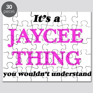 It's a Jaycee thing, you wouldn't u Puzzle