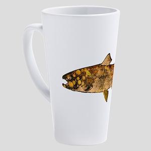 TROUT STYLE 17 oz Latte Mug