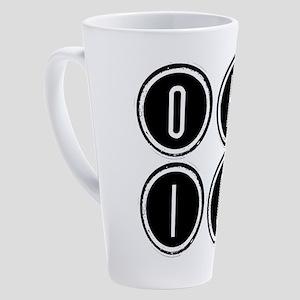 Ohio 17 oz Latte Mug