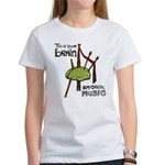 BrainPipe_blackletters_3K_transparent_2 T-Shirt
