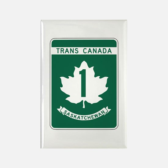 Trans-Canada Highway, Saskatchewan Rectangle Magne