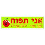 Ani Tapuach Bumper Sticker (10 pk)