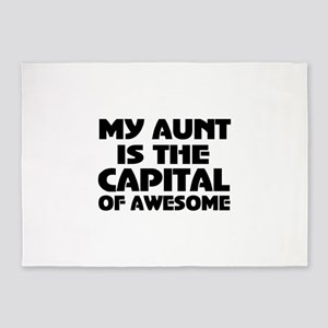 Aunt 5'x7'Area Rug