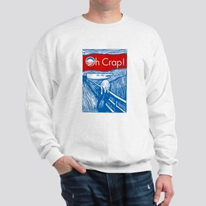Oh Crap Obama Scream Sweatshirt