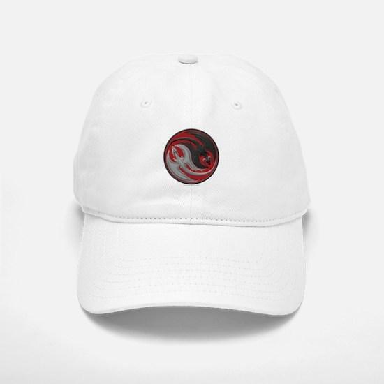 Dragon Yin Yang Baseball Baseball Cap