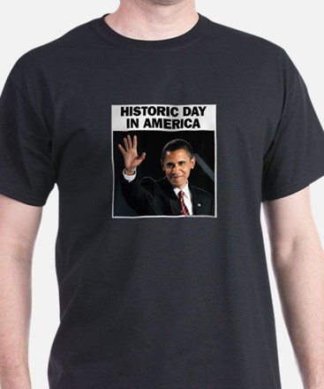 Obama Wins! Historic Headline T-Shirt