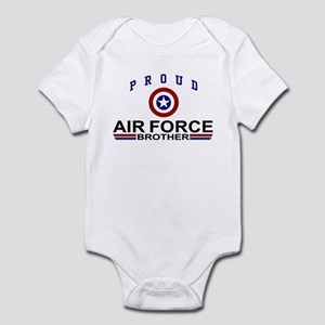 Proud Air Force Brother Infant Bodysuit