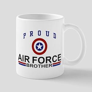Proud Air Force Brother Mug