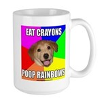 Eat Crayons - Poop Rainbows