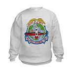 USS GEORGE WASHINGTON Kids Sweatshirt