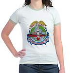 USS GEORGE WASHINGTON Jr. Ringer T-Shirt