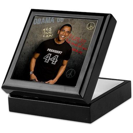 President #44 Keepsake Box