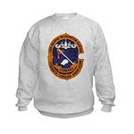 USS GEORGE WASHINGTON CARVER Kids Sweatshirt